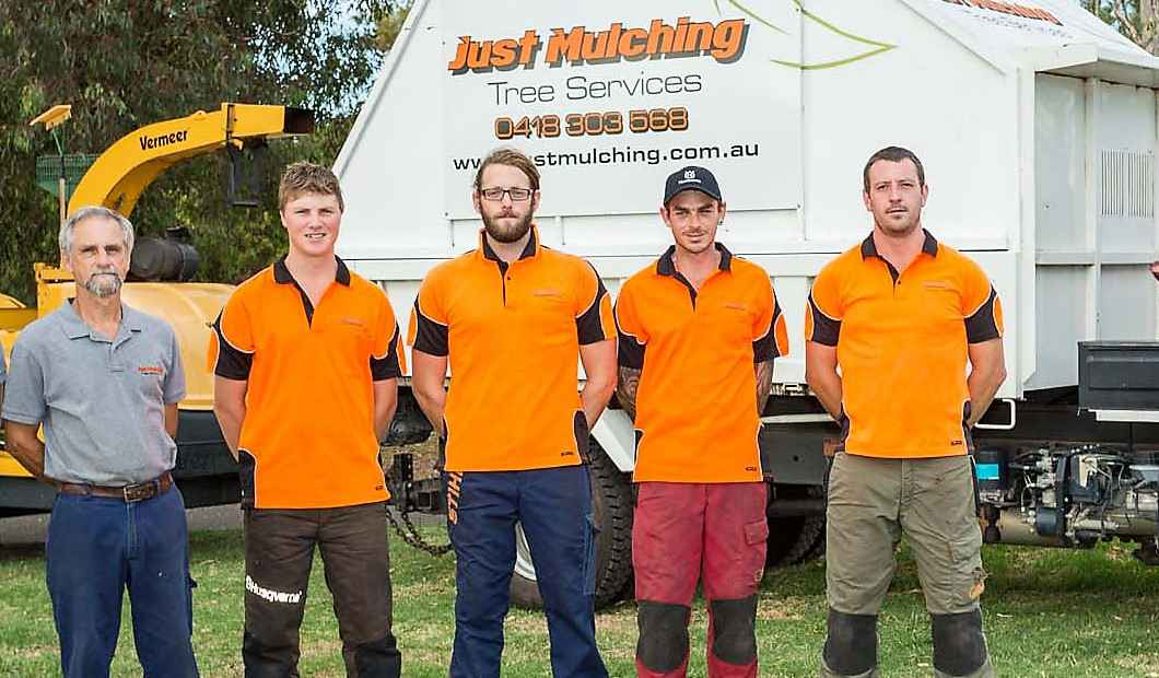 The Just Mulching Team